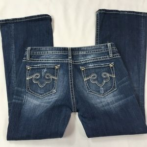 ReRock for Express Boot Cut Blue Jeans Size 10S